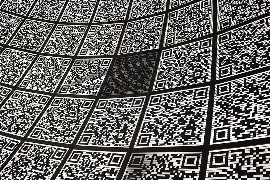 Collage de códigos QR