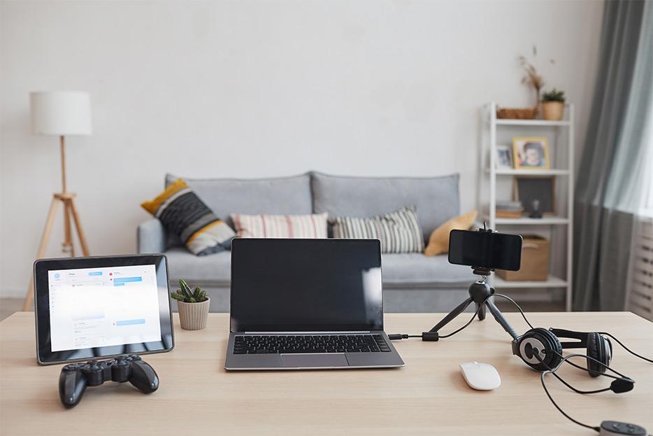 escritorio para streaming